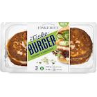 Burger m/Steinbit & Gressløk