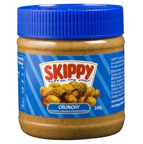Skippy Peanutbutter Crunchy 340 g