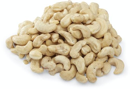 Nøtteliten Økologiske Cashewnøtter Rå, Usaltet, 130 g
