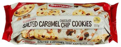 Semper Salted Caramel Chocolate Cookie Glutenfri, 150 g