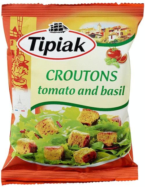 Tipiak Krutonger med Tomat & Basilikum 50 g