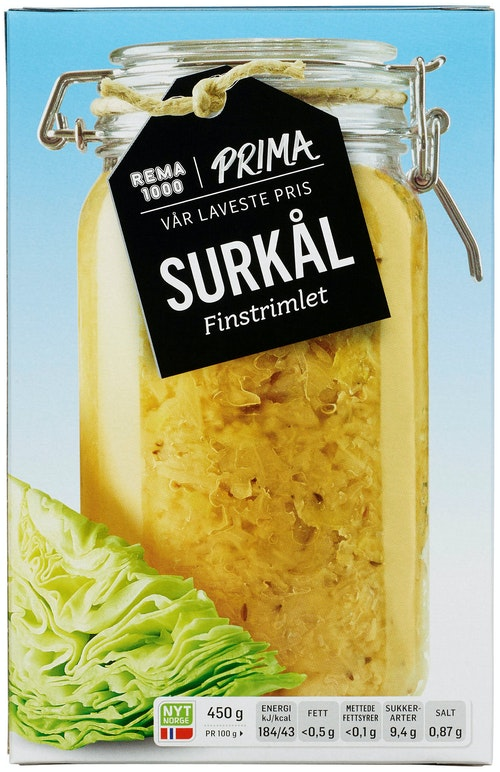 REMA 1000 Surkål 450 g