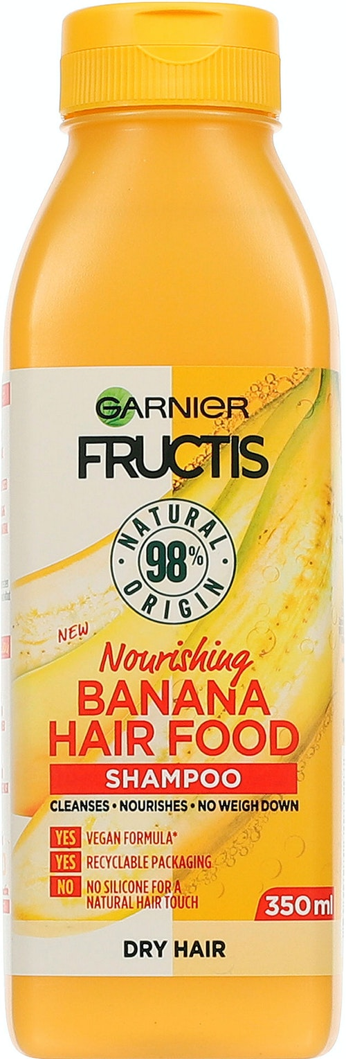 Garnier Fructis Hair Food Banana Shampo 350 ml
