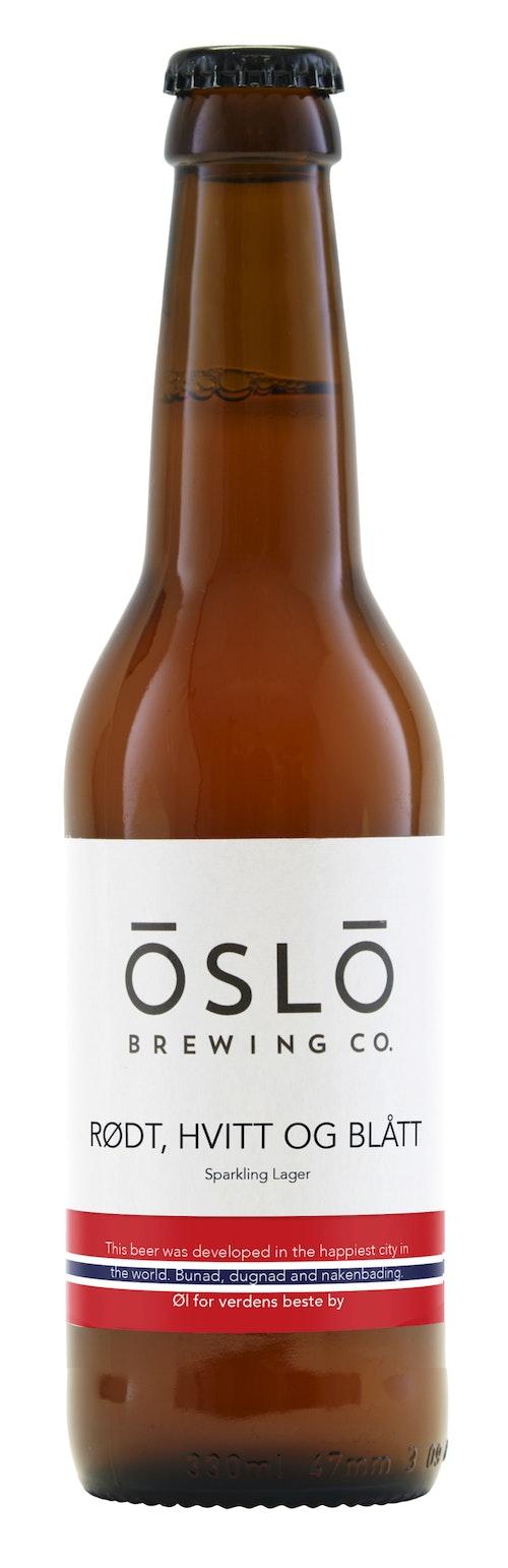Oslo Brewing Company Rødt, Hvitt og Blått 0,33 l