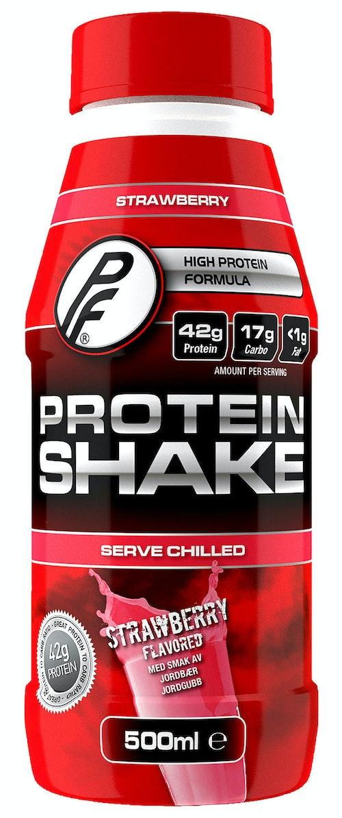 Proteinfabrikken Proteinshake Strawberry 500 ml