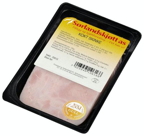 Sørlandskjøtt Kokt Skinke Håndlaget, 200 g