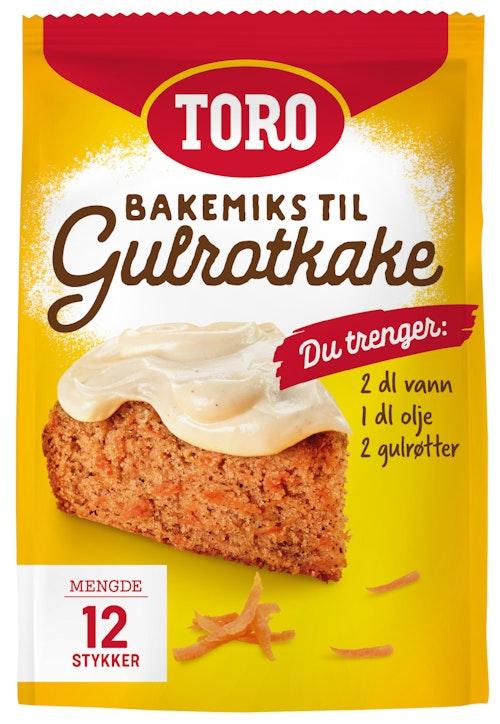 Toro Toro Gulrotkake 396 g
