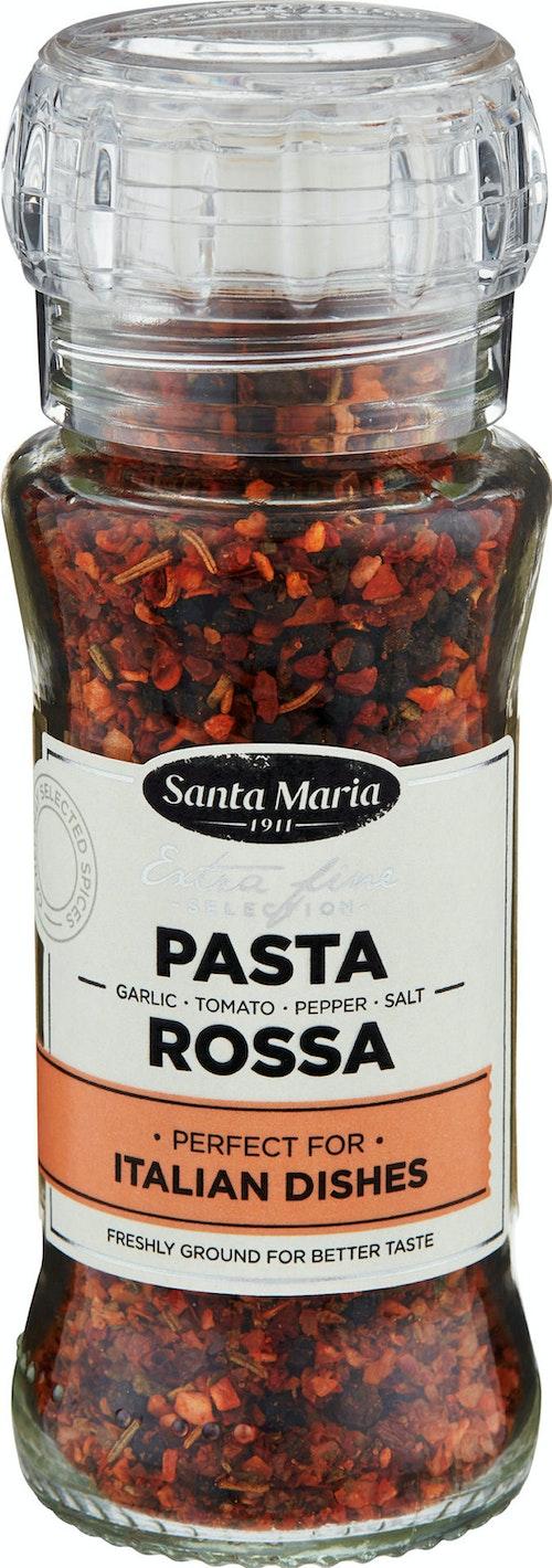 Santa Maria Pasta Rossa Hvitløk, Tomat, Pepper & Salt, 80 g