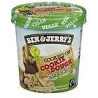 Non-Dairy Cookies on Cookie Dough