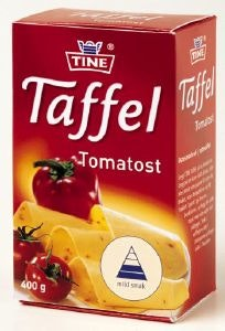 Tine Taffelost Tomat 400 g