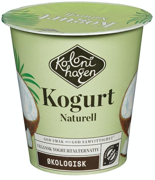 Kolonihagen Kogurt Naturell Økologisk, 125 g
