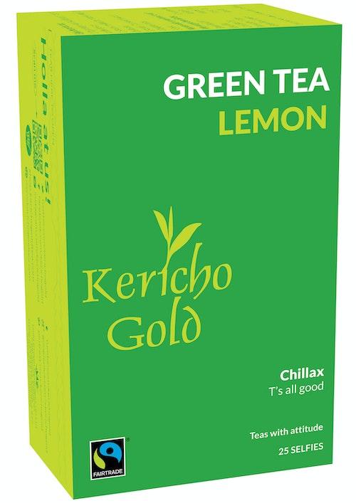 Kericho Gold Grønn te Sitron 25 stk