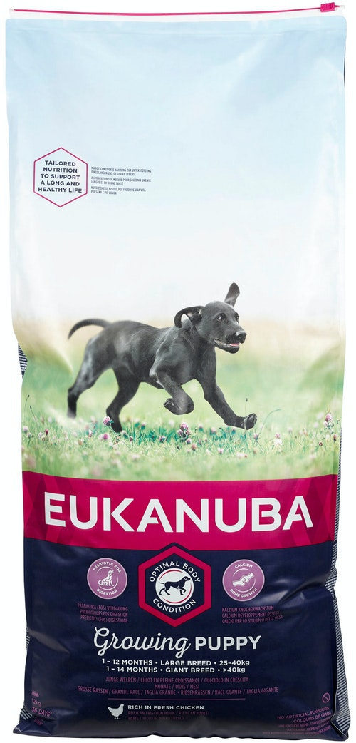 Eukanuba Growing Puppy Large Breed Rich In Fresh Chicken, 12 kg
