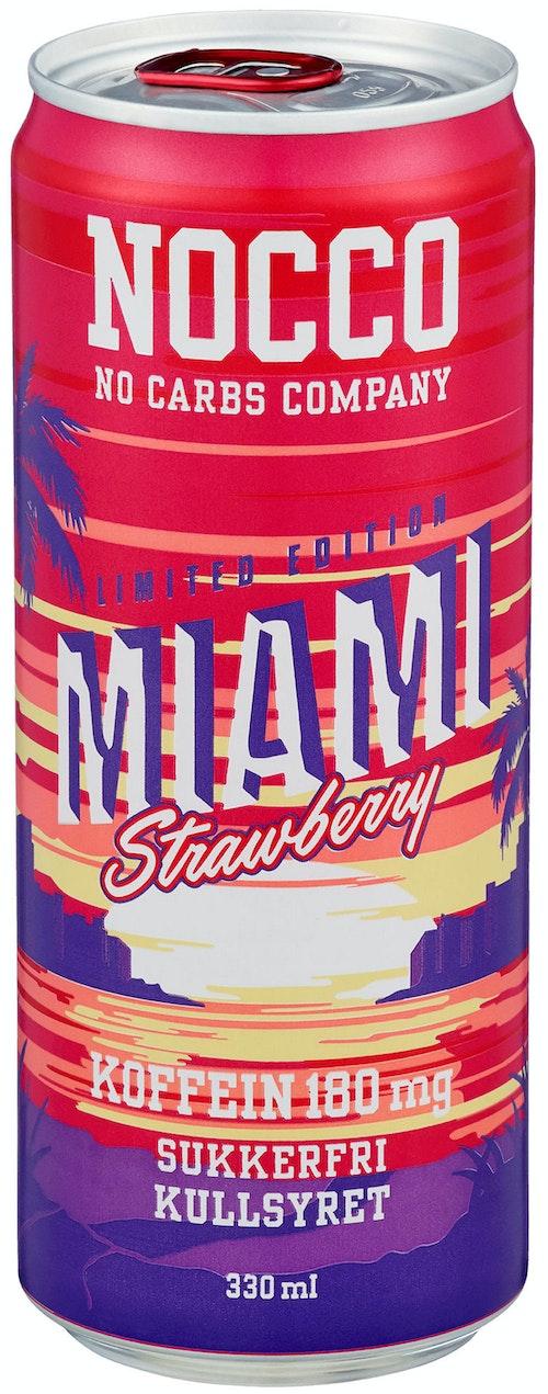 Nocco Miami Strawberry 0,33 l