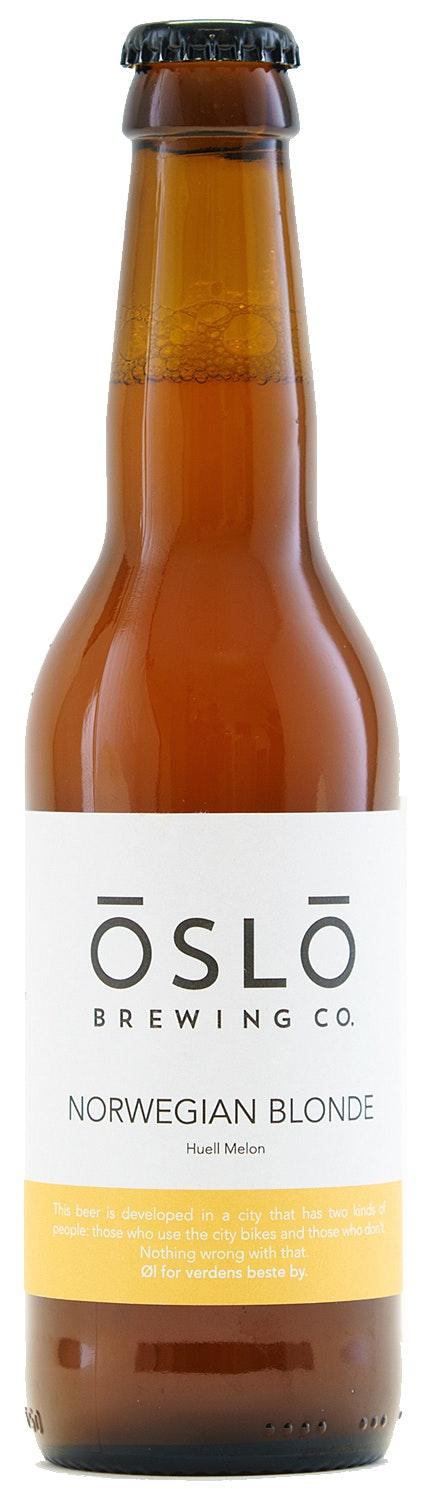 Oslo Brewing Company Norwegian Blonde 4,7%, 0,33 l