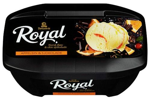 Diplom-Is Royal Appelsin & Sjokolade 0,9 l