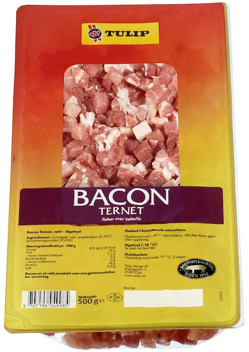 Tulip Bacon Ternet Fryst, 500 g