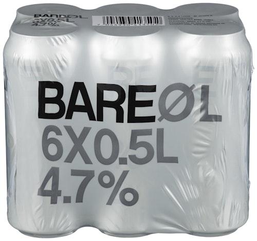 Grans Bryggeri Bare Øl 6 x 0,5l, 3 l