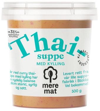 Mere Mat Thaisuppe Med Kylling 500 g