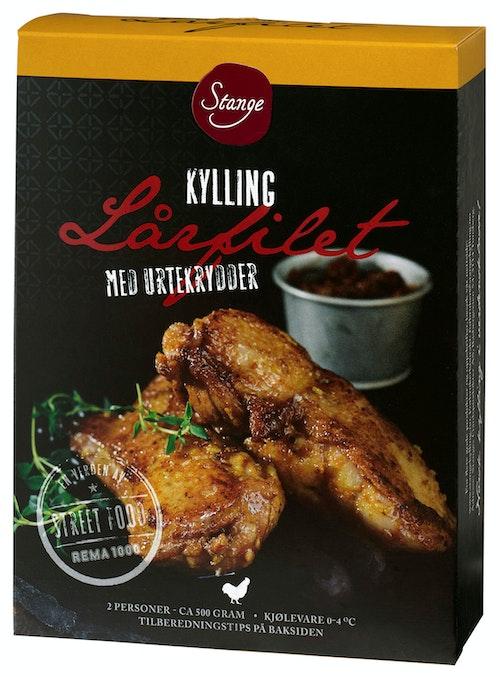 Stanges Gårdsprodukter Kylling Lårfilet ca. 500 g
