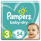 Pampers Bleie Babydry
