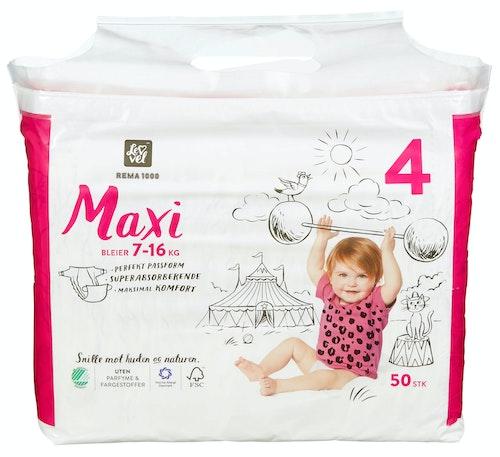 REMA 1000 Lev Vel Bleier Maxi Str. 4 7-16 kg, 50 stk