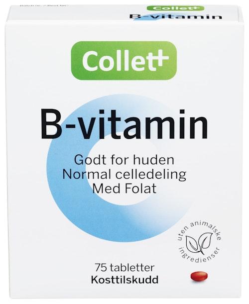 Collett B-vitamin 75 stk