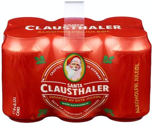 Clausthaler Santa Clausthaler 0,33 x 6stk, 1,98 l