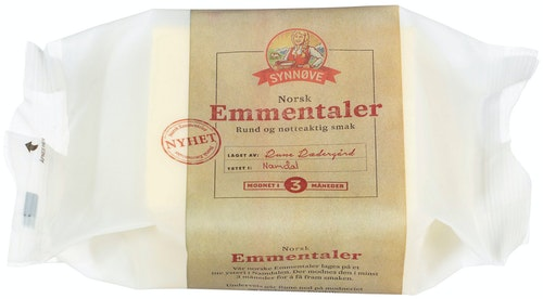 Synnøve Emmentaler 450 g