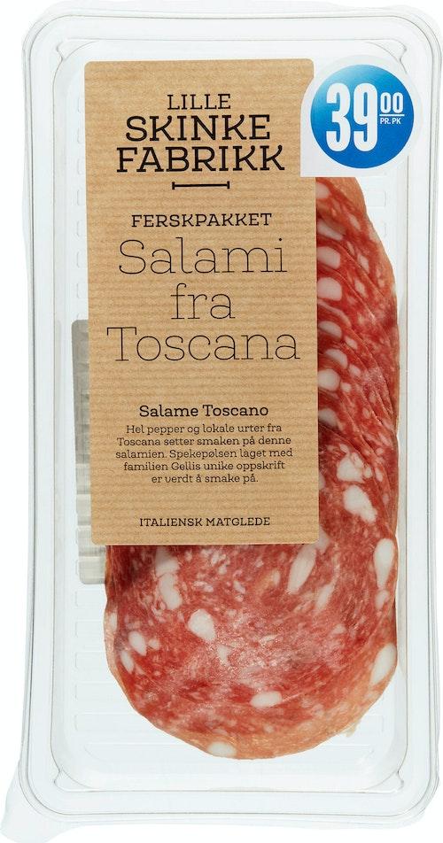 Lille Skinkefabrikk Salami Toscana Speket 60 g