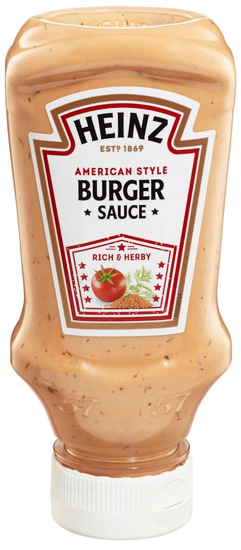 Heinz American Hamburger Sauce 220 g