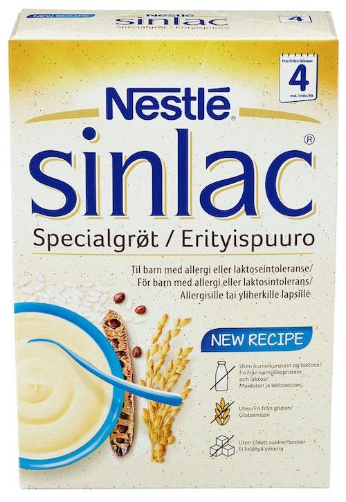 Nestlé Spesialgrøt Sinlac Fra 4 mnd, 500 g
