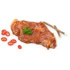 Svinenakke Marinert med Lakrisrot & Chili