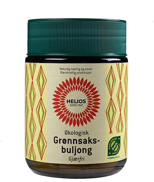 Helios Grønnsaksbuljong Gjærfri Økologisk, 130 g