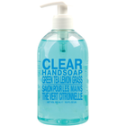 Clear Handsoap, Green Tea & Lemongrass