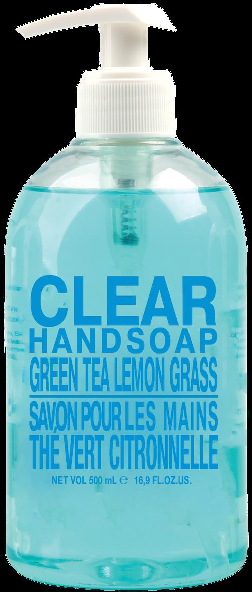 Clear Handsoap, Green Tea & Lemongrass 500 ml