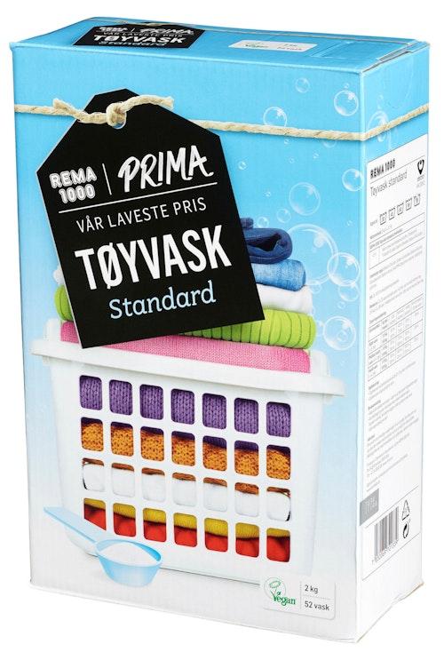 Prima Standardtøyvask Hvitt & Farget Tøy, 2 kg