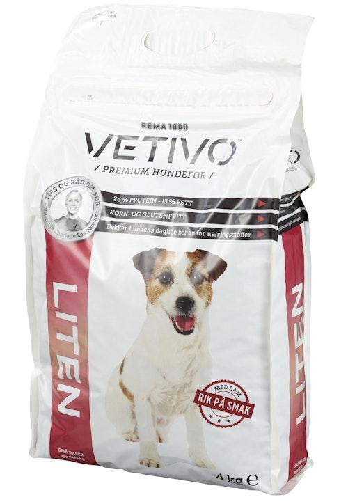 Vetivo Hundefôr Liten 4 kg