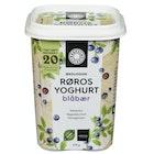 Økologisk Blåbær Yoghurt