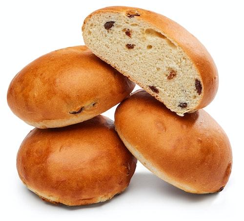 Brødverket Rosinboller 4 stk