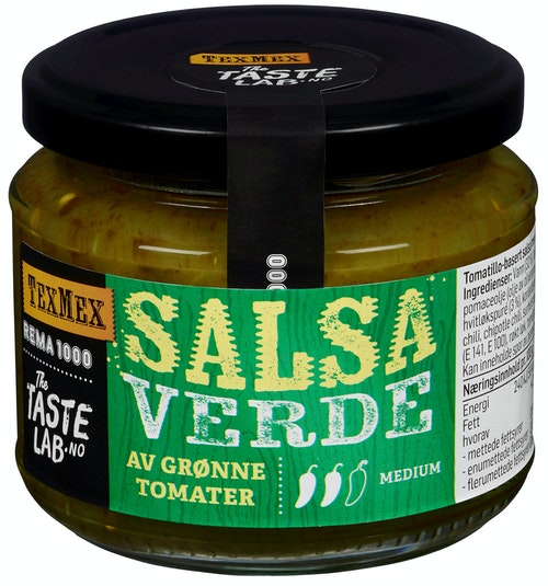 REMA 1000 Salsa Verde Taste Lab, 175 g