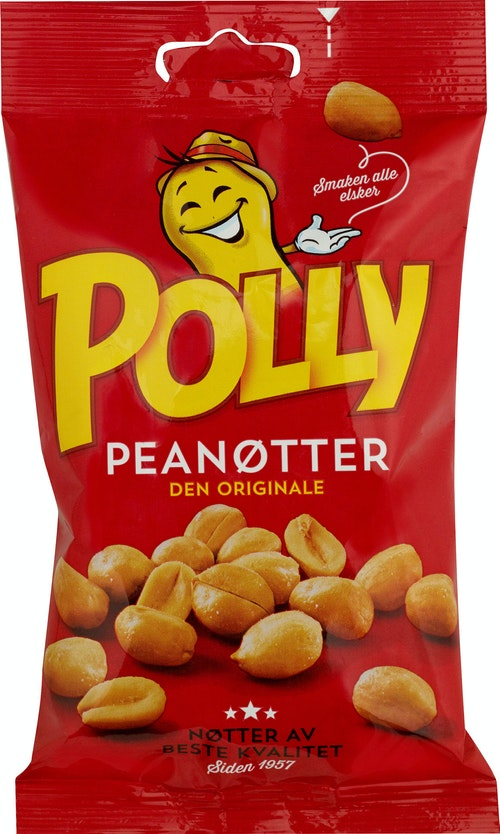 Polly Polly Peanøtter 165 g