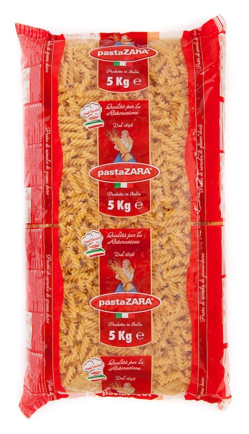 Pasta Zara Fusilli Pastaskruer 5 kg