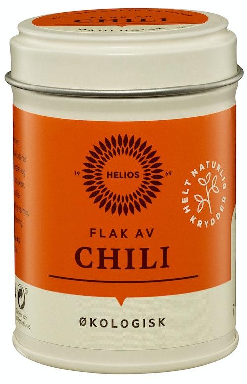 Helios Chiliflak Økologisk, 23 g