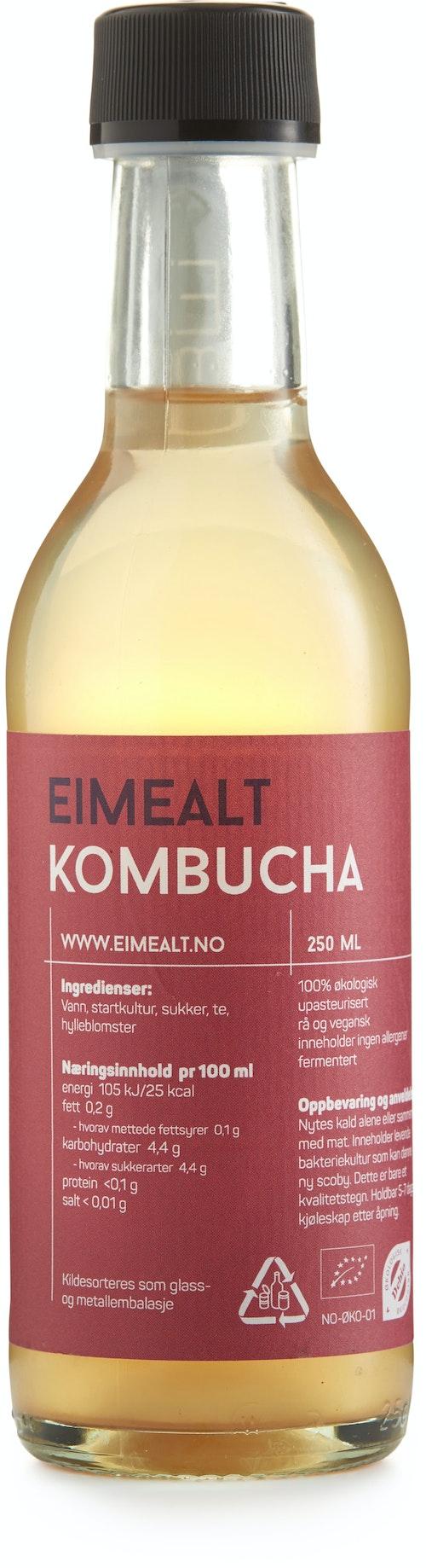 Eimealt Kombucha Hylleblomst 250 ml
