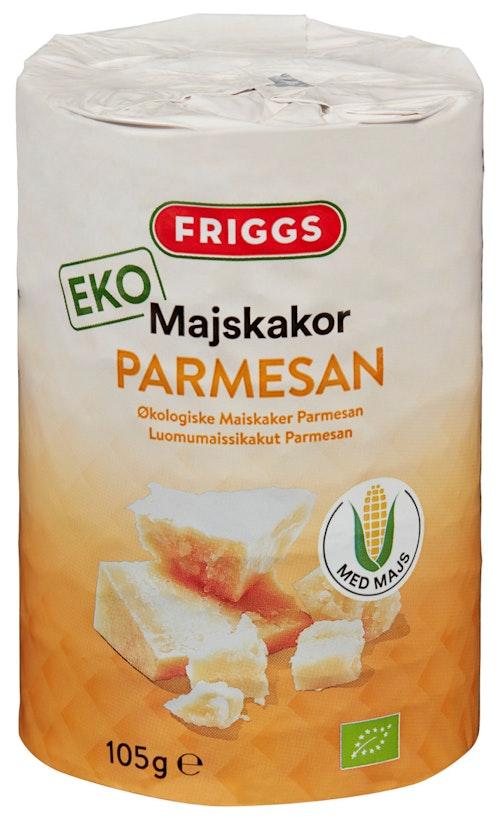 Friggs Friggs Maiskaker Parmesan Økologisk, 105 g