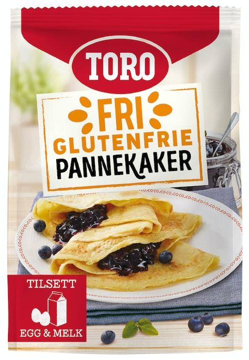 Toro Toro Pannekaker Glutenfri, 187 g