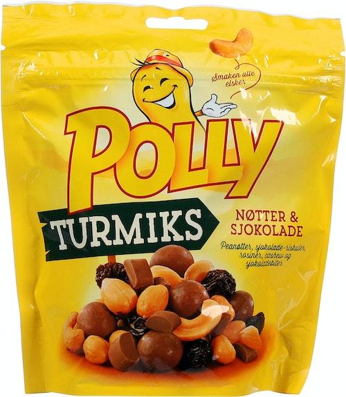 Polly Turmiks Nøtter & Sjokolade, 260 g