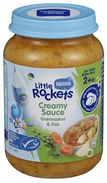 Little Rockets Creamy Sauce Fra 2 år, 190 g