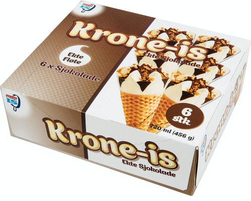 Eventyr Is Krone-Is Sjokolade 5 x 120ml, 720 ml